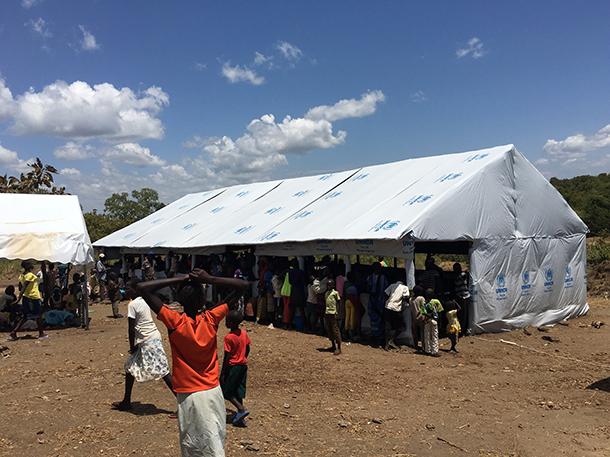 Het grootste vluchtelingenkamp ter wereld.