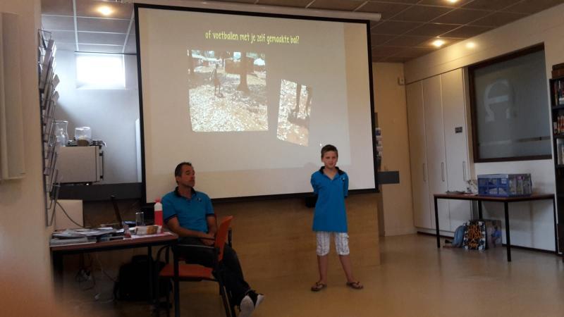Finn vertelt wat de verschillen zijn tussen Oeganda en Nederland.