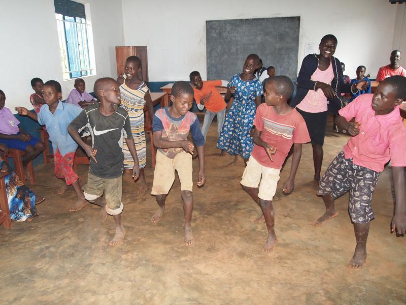Dansen maakt blij!